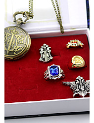 Uhr/Armbanduhr Abzeichen Mehre Accessoires Inspiriert von Black Butler Sebastian Michaelis Anime Cosplay AccessoiresAbzeichen