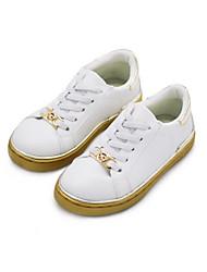 Mädchen-Stiefel-Lässig-PUKomfort-Silber Gold