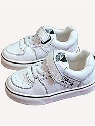 Boy's Sneakers Comfort PU Casual Black White