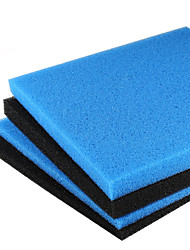 Aquarium Foam/Sponge Filter 45x45cm Universal Black Filtration Foam Fish Tank Biochemical Filter Pad