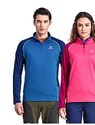 Unissexo Blusas Esportes Relaxantes Confortável Primavera Outono Vermelho AzulM L XL