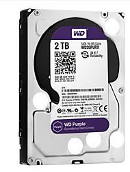 WD 2TB Área de trabalho do disco rígido SATA 3.0 (6Gb / s) 64MB esconderijoWD20PURX