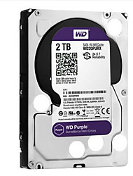 WD 2 To Disque dur de bureau SATA 3.0 (6Gb / s) 64Mo cachetteWD20PURX