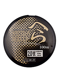 100M / 110 Yards Monofilament Fishing Line Black 20LB 0.16 mm For General Fishing