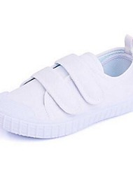 Boy's Flats Comfort Canvas Casual White