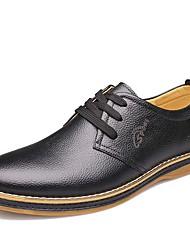 Men's Fashion Casual Genuine Leather Shoes/Oxfords