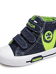Boy's Sneakers Comfort Canvas Casual Black Light Blue Navy Blue