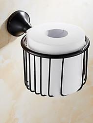 WC-Rollenhalter / Bronze, geöltMessing /Antik