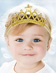 Kid's Cute Baby  Knitting Turban  Star Crown Headbands