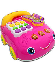 Toy Phones Plastic Pink 2 to 4 Years 5 to 7 Years