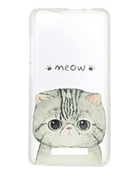Für Muster Hülle Rückseitenabdeckung Hülle Katze Weich TPU für Wiko Wiko Sunset 2 Wiko Jerry Wiko Lenny 3 Wiko Lenny 2
