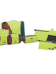 Travel Bag for Unisex Travel Storage Fabric-Orange Gray Yellow Blue