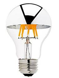 6W B22 E26/E27 Ampoules à Filament LED G60 6 COB 600 lm Blanc Chaud Gradable AC 100-240 AC 110-130 V 1 pièce