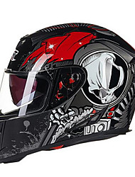 GXT G358 Motorcycle Full Helmet Double Lens Anti-Fog ABS Helmet For Man