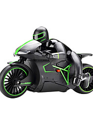 Motocicleta JJRC 1:12 Brushless Eléctrico Coche de radiocontrol  AM Verde Listo para Usar Carro de control remoto