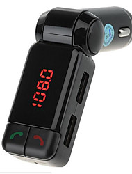 BC06 Bluetooth Handsfree Car Charger MP3 Player FM Transmitter