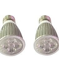 5W E14 E27 Luz de LED para Estufas 5 LED de Alta Potência 450-550 lm Vermelho Azul V 2 pçs
