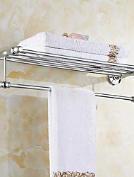 Stainless Steel Contemporary Bathroom Shelf
