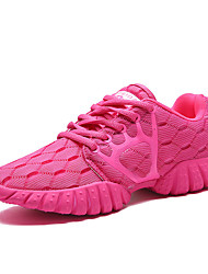 Women's Athletic Shoes Spring Summer Fall Comfort Tulle Outdoor Athletic Casual Flat Heel Others Black Purple Light Blue Coral Running