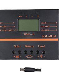 Y-SOLAR 80A LCD Solar Charge Controller PWM Charger Solar panel SOLAR80