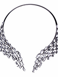 Women's Choker Necklaces Statement Necklaces Jewelry Jewelry Wings / Feather AlloyUnique Design Fashion Personalized Statement Jewelry