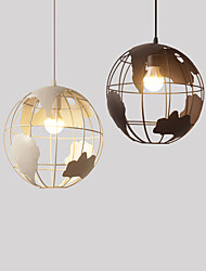 Creative Art Cafe corridor bedroom bar dining room lamp Nordic modern minimalist earth single head hanging lamp