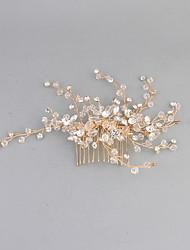 Women's Stainless Steel Headpiece-Wedding Hair Combs 1 Piece