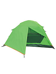 2 Personen Zelt Doppel Familien Zelte Einzimmer Camping Zelt Polyester Wasserdicht Atmungsaktivität Winddicht-Wandern Camping Reisen