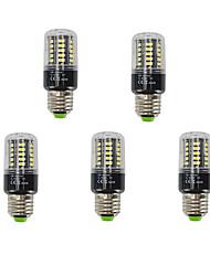 5W E27 Ampoules Maïs LED T 40 SMD 5736 480 lm Blanc Chaud Blanc Froid Décorative AC 85-265 V 5 pièces