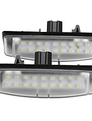 2 X LED License Plate Light Lamp for Toyota Camry Echo Lexus IS LS GS ES RX