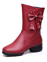 Female shoes square dancing shoes modern jazz dance dance boots shoes soft bottom sailors