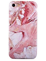 Pour IMD Motif Coque Coque Arrière Coque Marbre Flexible PUT pour Apple iPhone 7 Plus iPhone 7 iPhone 6s Plus/6 Plus iPhone 6s/6
