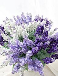 Fleurs de mariage Forme libre Lavande Bouquets Mariage La Fête / soirée Soie