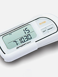 Pedometers LCD Display Battery ABS