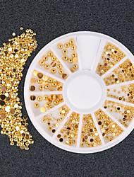 1SET Decoración de uñas Las perlas de diamantes de imitación maquillaje cosmético Dise?o de manicura