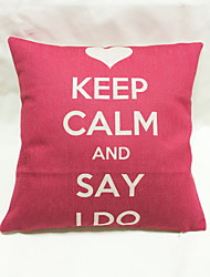 1 pcs Cotton/Linen Pillow Case Body Pillow Travel Pillow Sofa Cushion Novelty Pillow Pillow Cover,Geometric Nature Quotes & Sayings