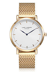 Women's Dress Watch Japanese Quartz Water Resistant / Water Proof Quartz Stainless Steel Band Sparkle Charm Gold