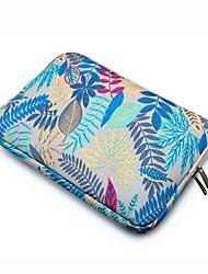 "Sleeve for Macbook 13"" Macbook Air 11""/13"" Macbook Pro 13""/15"" MacBook Pro 13""/15"" with Retina display Flower Textile Material Shockproof"
