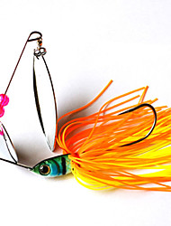 2 pcs Fishing Lures Hard Bait Random Colors g/Ounce mm inch,Plastic Metal General Fishing