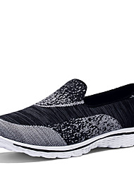 Unisex Loafers & Slip-Ons Spring Summer Couple Shoes Light Soles Tulle Athletic Casual Low Heel Walking