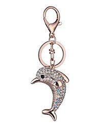 Key Chain Key Chain Dolphin Chic & Modern Creative Leisure Hobby Navy Metal