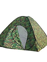 3-4 Personen Zelt Einzeln Familien Zelte Einzimmer Camping Zelt Polyester Wasserdicht-Wandern Camping Reisen Draußen