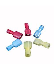 1,25-250 nylon masculino protecção do ambiente e do terminal de ancoragem feminino, todos isolados