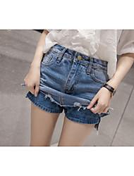 знак 2017 последней моде промывают денима юбка бюст брюки