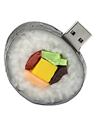 128GB Sushi Rubber USB2.0 Flash Drive Disk