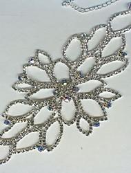 Chaînes & Bracelets Cristal Imitation de diamant Naturel Vintage Mariée Mode Bijoux Argent Bijoux 1pc