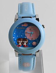Fashion Watch Quartz / PU Band Cartoon Casual Multi-Colored Brand Strap Watch