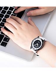 Masculino Relógio Esportivo Quartzo / Plastic Banda Vintage Preta Branco Branco Preto Azul Escuro
