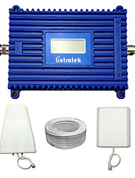 Lintratek 4G LTE Repeater LCD FDD 4G 2600MHz Signal Booster 70dBi Gain Mobile Phone Signal Amplifier Full kit  For SFR/Bell/Orange/Vodafone/EE