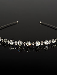 Rhinestone Headpiece-Wedding Special Occasion Casual Tiaras Headbands 1 Piece